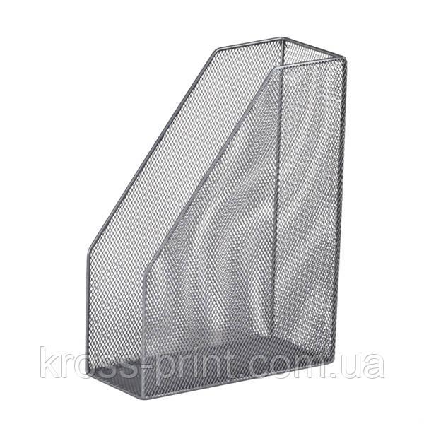 Лоток вертикальный металлическая сетка ВМ 6260-24 серебро 40шт/уп