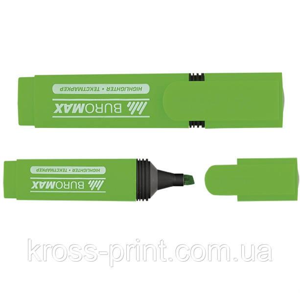 Маркер текстовый BM 8901-04 зеленый 12/864шт/уп