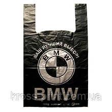 Пакет ПЭ 43*75см 40мкм BMW 50шт черные 10уп/ящ