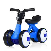 Детский мотоцикл  каталка М 4086-4 синий