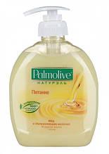 Мило рідке 0,3 л Palmolive Молоко і мед з дозатором 12шт/уп