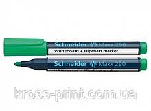 Маркер для доски Schneider 290 129004 зеленый 10шт/уп