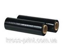 Стретч пленка RS черная 20мкм 0.5м 200м RECYCLING 6рул/ящ