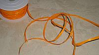 Рафия оранжевого цвета