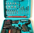 Аккумуляторный шуруповерт makita 550DWE 24V 5A/h Li-Ion Шуруповерт Макита 550dwe с набором инструментов, фото 10