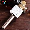 ОРИГИНАЛ! Микрофон караоке с динамиками Tuxun Q7 Беспроводной, Блютуз / Лучший детский подарок