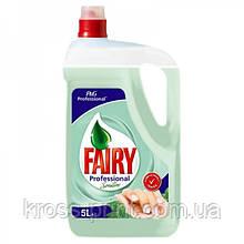 Засіб для миття посуду Fairy 5л Sensitive 3шт/уп
