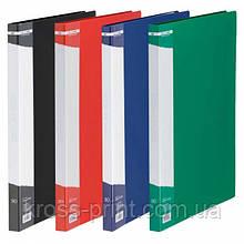 Дисплей-книга А4 30 файлов Jobmax ВМ 3611 ассорти 24/144шт/уп