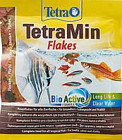 Корм для аквариумных рыб Tetra Min хлопья