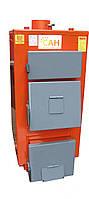 Твердотопливные котлы на дровах длительного горения с механическим регулятором тяги САН Экo М 17 квт