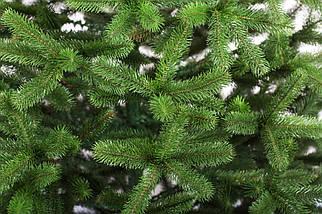 Новогодняя искусственная литая ель 2,3 метра Президентская зеленая, фото 2
