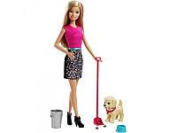 "Кукла Barbie ""Веселая прогулка с любимцем"""