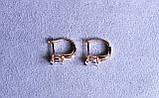 Сережки фірми Xuping з цирконієм (color 95), фото 5