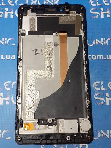 Дисплей Philips S326 тачскрин (экран и сенсор) модуль ОРИГИНАЛ черный  б.у., фото 2