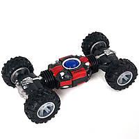 Трюковая машинка вездеход Twist Climbing Car 4WD с пультом д/у Красная