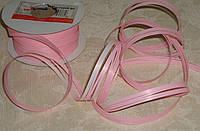 Рафия розового цвета