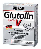 Элитный флизелиновый клей PUFAS GLUTOLIN V platin 200 г