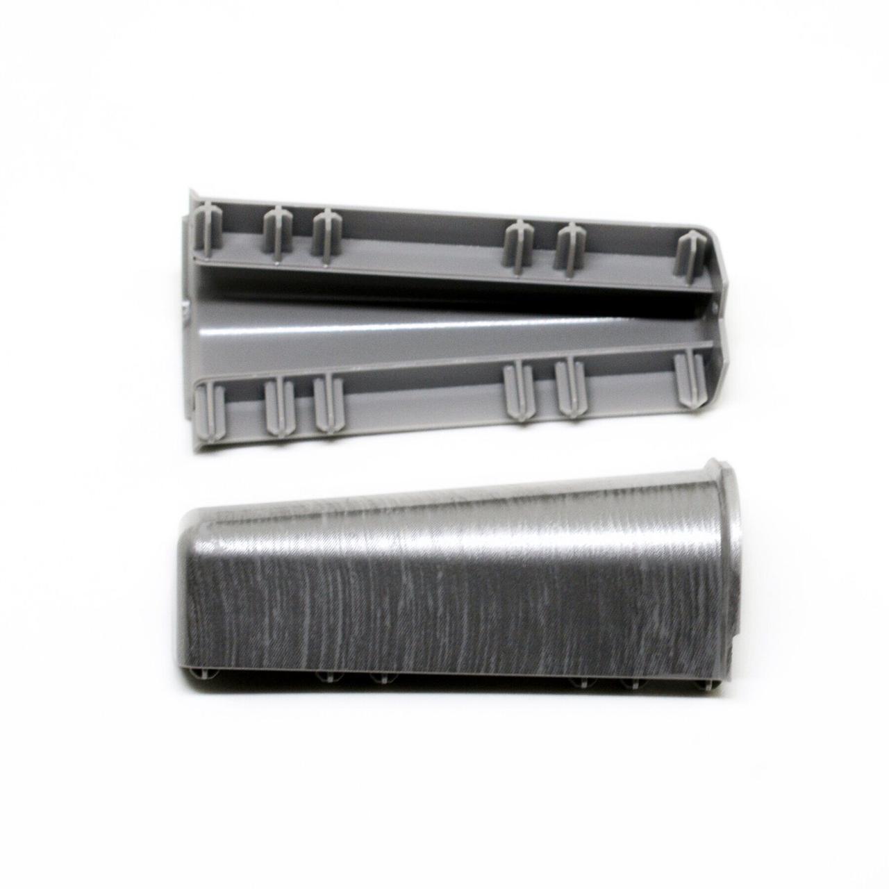 Угол внешний к плинтусу Hi Line Prestige Cezar Aluminium Матовый