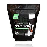 Масс-Протеин Комплект: 2 кг Whey Протеин Poland 80% шоколад + Креатин + Кардиопротектор  в Подарок!, фото 2