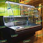 Холодильна кондитерська вітрина MUZA-ДО-1,25 з вбудованим агрегатом, фото 4