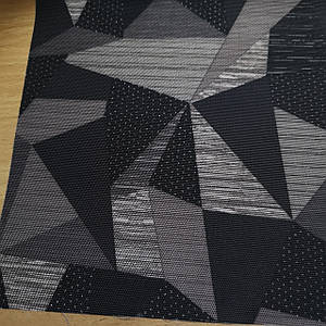 """Тканина оксфорд 420d PU принт """"трикутники"""""""