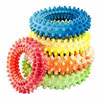 Sum-Plast Prickly Ring игрушка кольцо с шипами для собак, с запахом ванили, №3 (Ø14см)