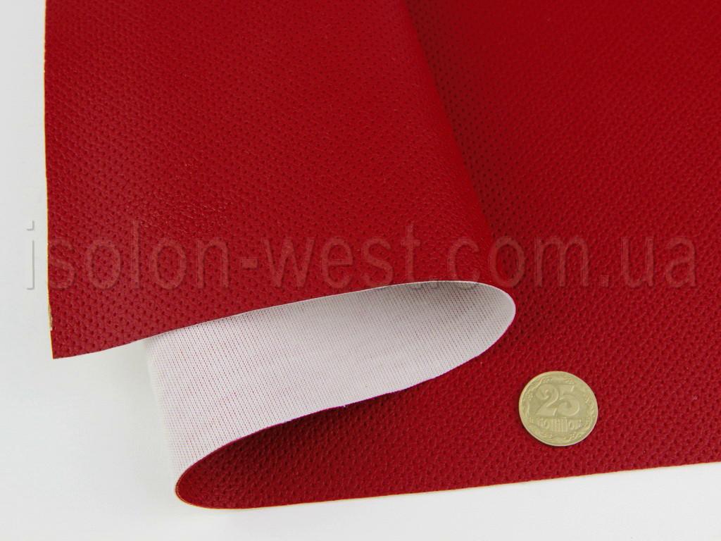 Кожзам псевдо-перфорированный vf-5621 красный, для сидений авто, мотоциклов, квадроциклов, шир 1.50м