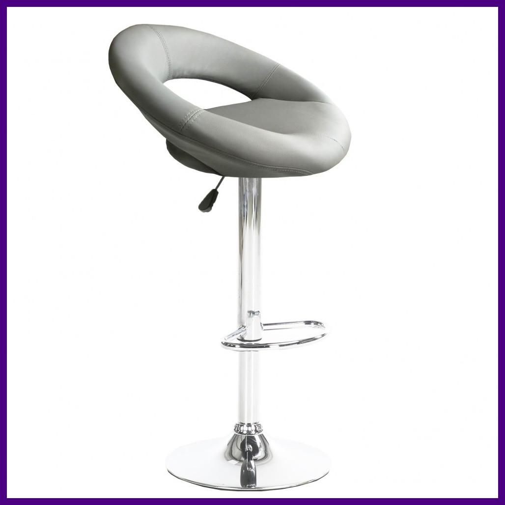 """Барний стілець HOKER BONRO В650 з Підставкою для ніг(120 кг навантаження)""""""""СІРИЙ"""
