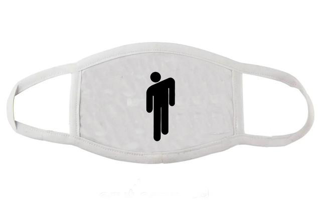 Многоразовая маска защитная с принтом Билли Айлиш