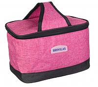 Термосумка Brivilas розового цвета, фото 1