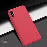 Nillkin Xiaomi Redmi 9A Frosted Shield Red Чохол Накладка Бампер, фото 6