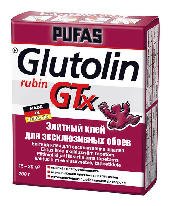 Элитный клей для эксклюзивных обоев PUFAS GLUTOLIN GTX rubin 200 г - Элементы декора и отделочные материалы в Киеве