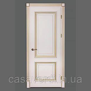 Межкомнатная дверь Casa Verdi Lorenzo 5 из массива ясеня слоновая кость