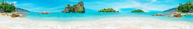 изображение лазурного моря для фартука 12