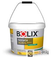 Bolix TM Sonata Acryl White (Снежнобелая акриловая краска) 10л, (ТМ Боликс)