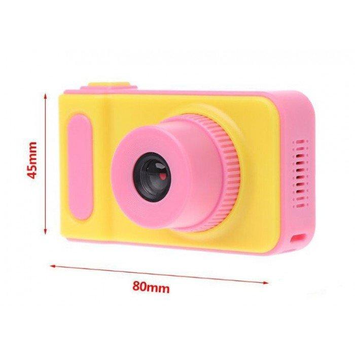 Дитячий цифровий фотоапарат Smart Kids Camera V7 Pink