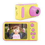 Детский цифровой фотоаппарат Smart Kids Camera V7 Pink, фото 5