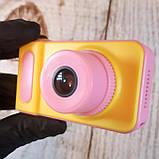 Детский цифровой фотоаппарат Smart Kids Camera V7 Pink, фото 6