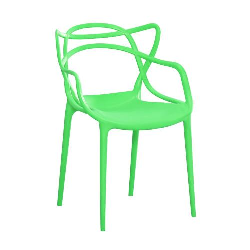 Штабелируемый стул монопластик Мастерс зеленый от SDM Group