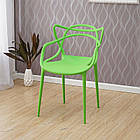 Штабелируемый стул монопластик Мастерс зеленый от SDM Group, фото 2