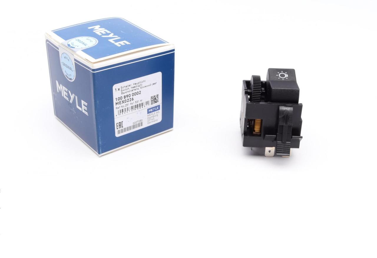 Выключатель света фар VW Golf/Jetta/Passat/T3 -92 (1008900002) MEYLE