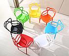 Штабелируемый стул монопластик Мастерс зеленый от SDM Group, фото 3