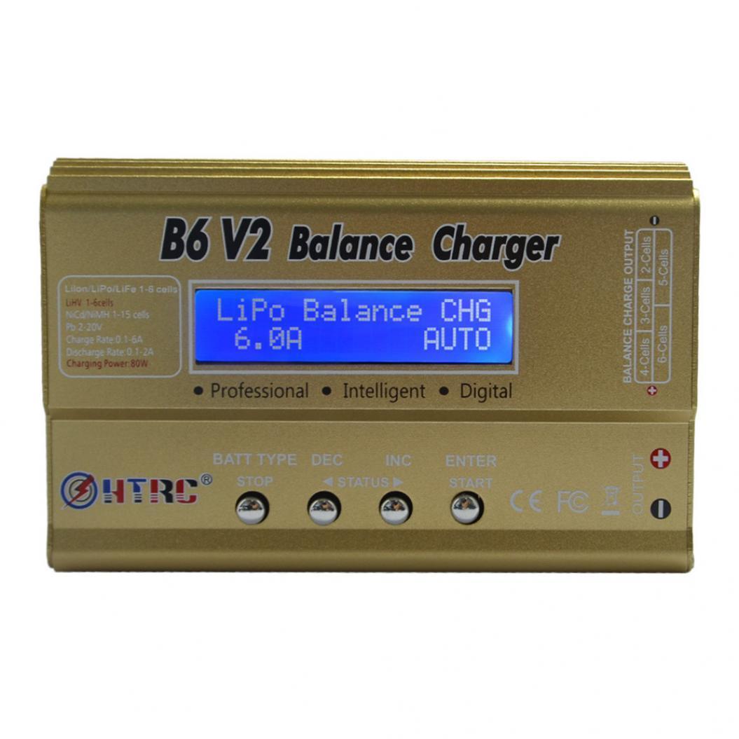 Зарядное устройство универсальное HTRC (IMAX) B6 80W 6А v.2