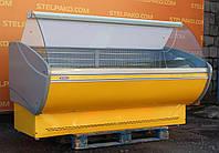 Холодильная гастрономическая витрина «Технохолод Каролина» 2.0 м., (Украина), широкая выкладка 70 см., Б/у, фото 1
