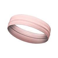 Повязка на голову для спорта Aolikes розовая, фото 1
