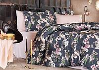 Комплект постільної білизни Tivolyo Home Lavinia сатин 220-200 см різнобарвний, фото 1