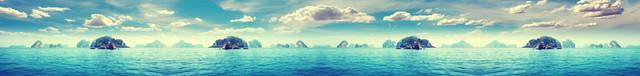 изображение морского побережья для фартука 8