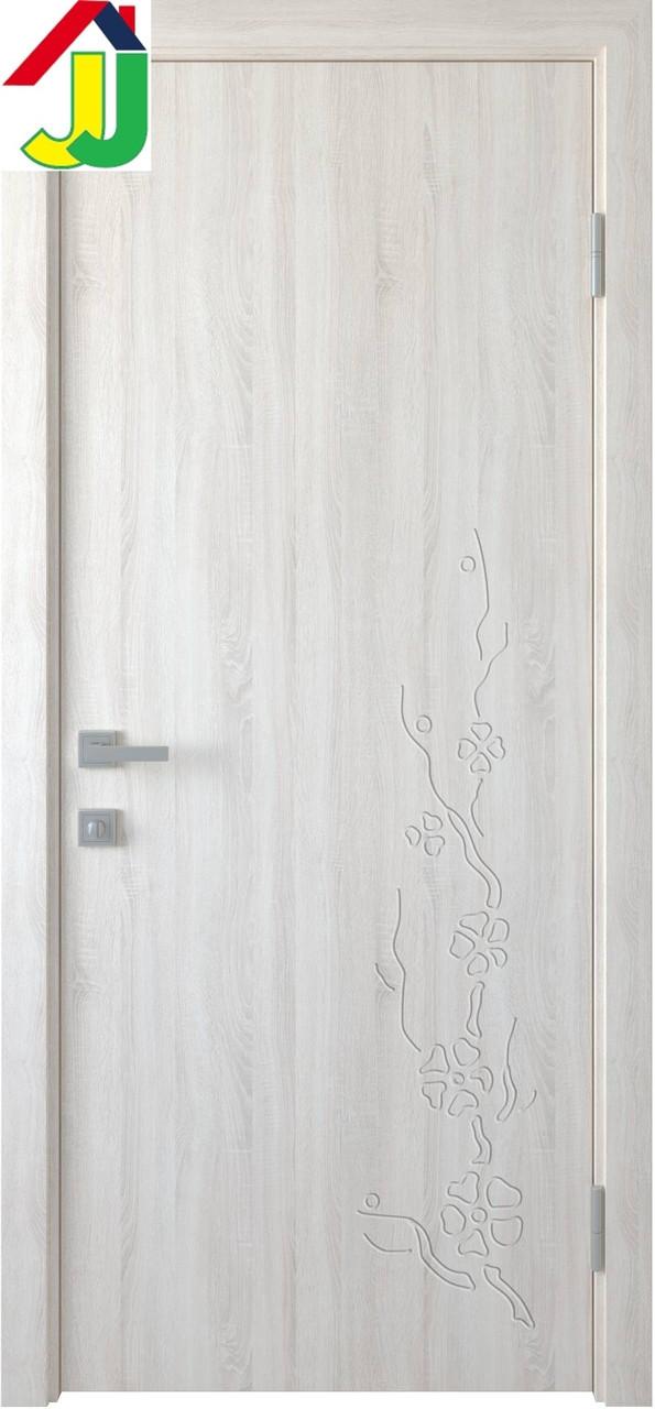 Дверь межкомнатная Новый стиль ПВХ Сакура UM ПВХ Delux Колори Ясень New
