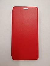 Чехол-книжка для Xiaomi Mi 10 Lite Level Red