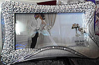 Рамка для свадебных фотографий ( 13 х 25).